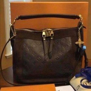 100% Authentic Louis Vuitton Leather Shoulder Bag